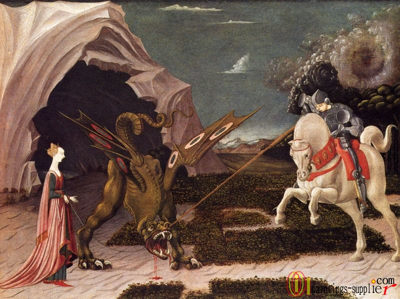 St George And The Dragon.