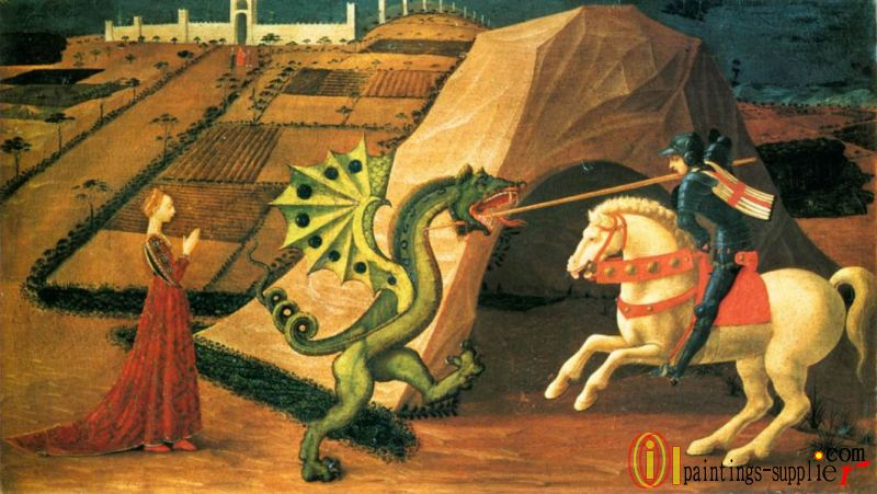 St George And The Dragon 1458-60