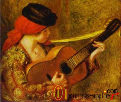 Young Spanish Woman with a Guitar, 1898