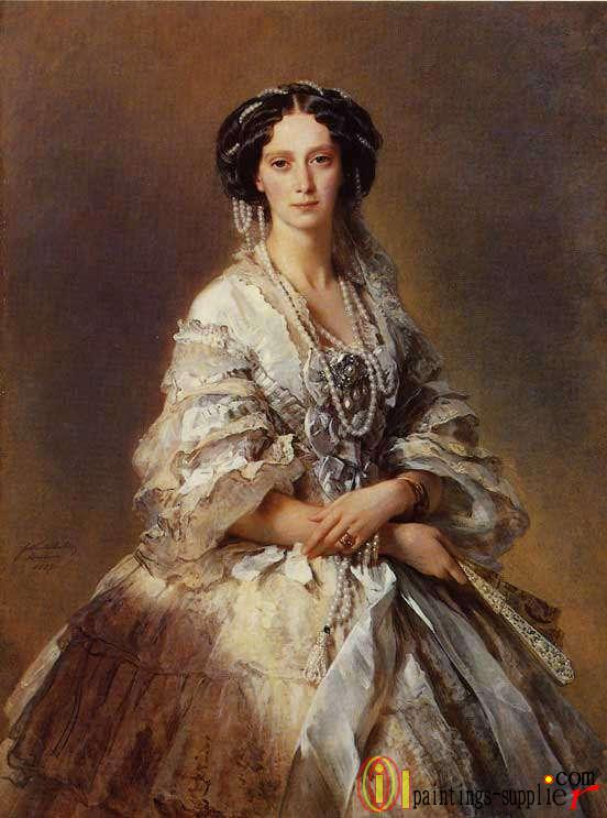 The Empress Maria Alexandrovna of Russia 1857