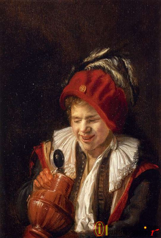 Kannekijker - A Youth With A Jug
