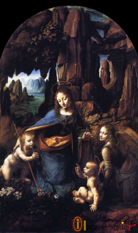 Virgin of the Rocks,1506.