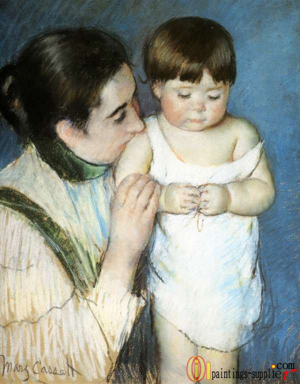 Young Thomas And His Mother,1893