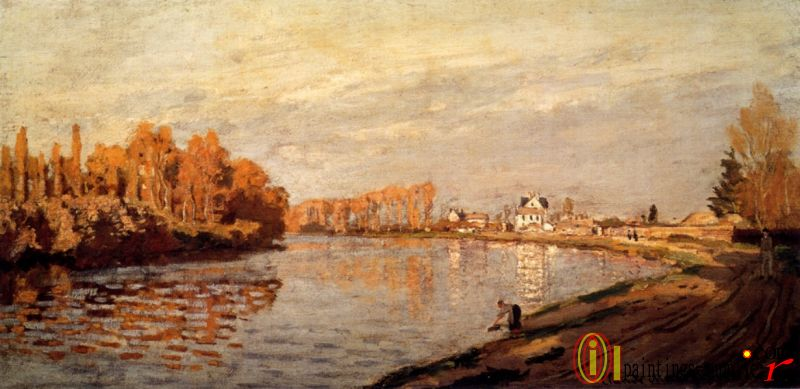 The Seine At Argenteuil 1872