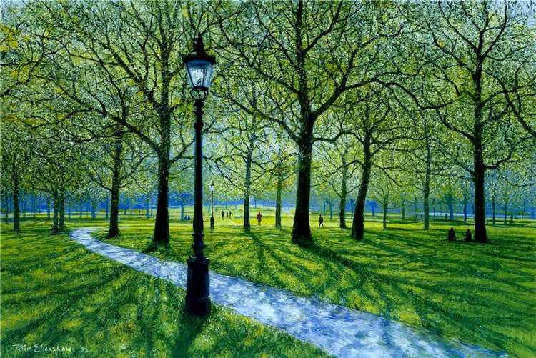 Peter Ellenshaw 油画作品 - 纽约文摘 - 纽约文摘
