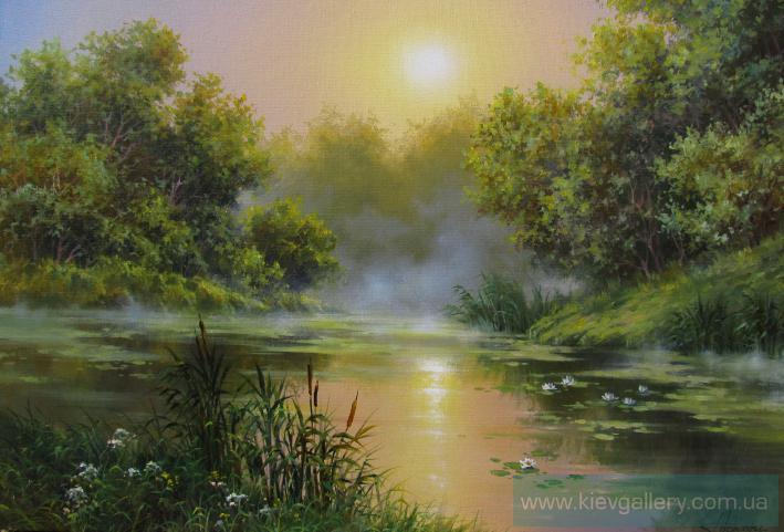 Картинки осенний закат